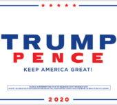 Trump-Pence 2020 and John Cornyn Yard Signs at HQ